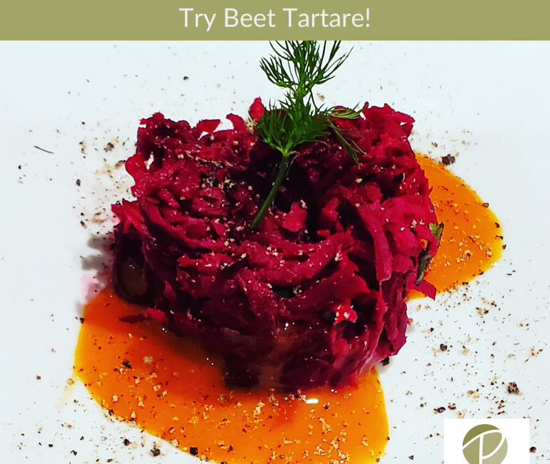 Beet and Horseradish Tartare Recipe