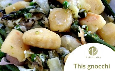 Sheet-pan Gnocchi with Asparagus, Leeks and Peas