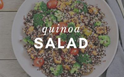 Quinoa Salad Recipe from Elizabeth Girouard