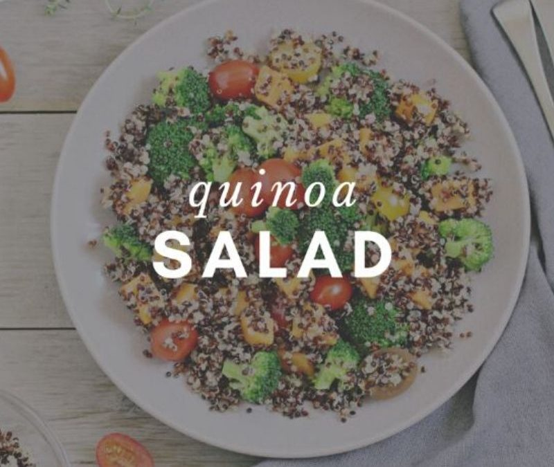 Quinoa Salad Recipe from Elizabeth Girouard