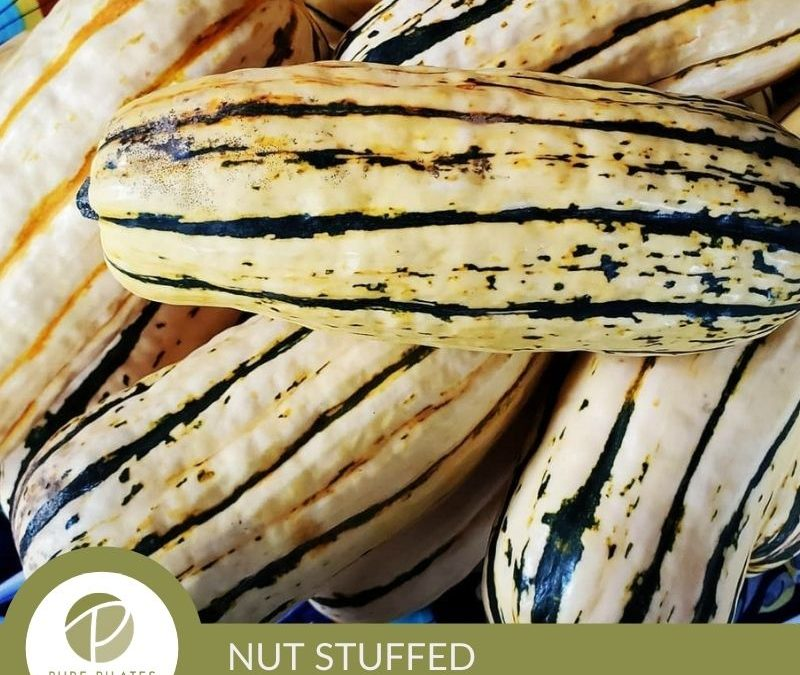 Nut-Stuffed Delicata Squash Recipe