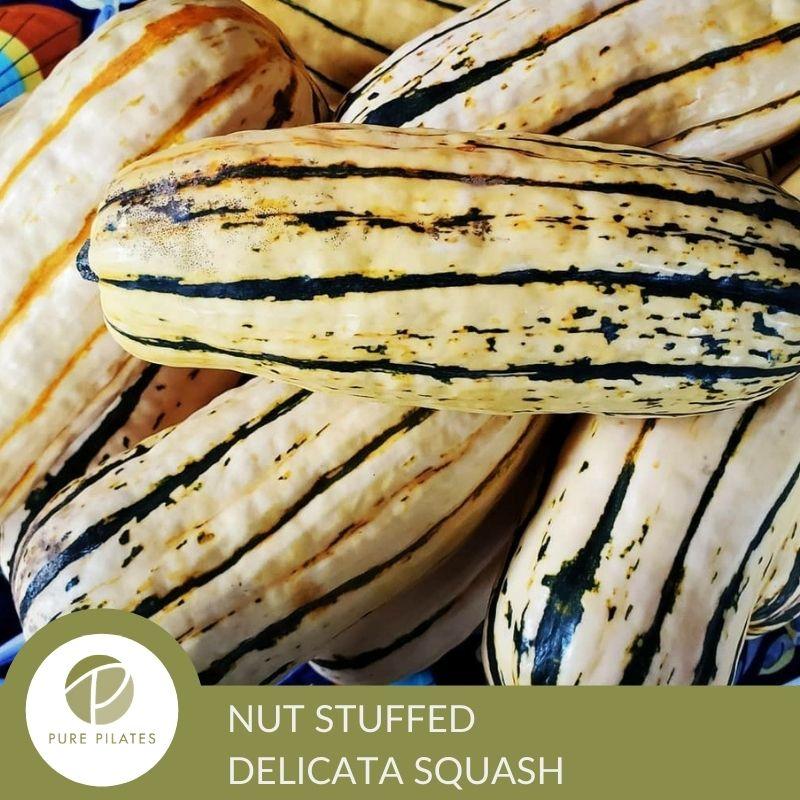 Nut-Stuffed Delicata Squash Recipe