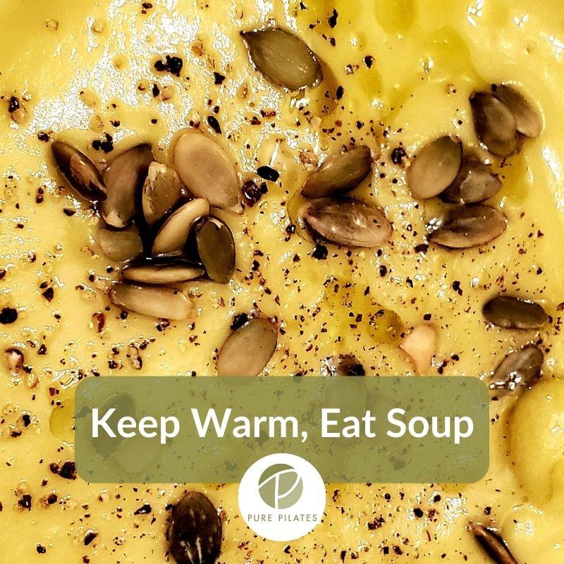 A Spin on Potato Leek Soup