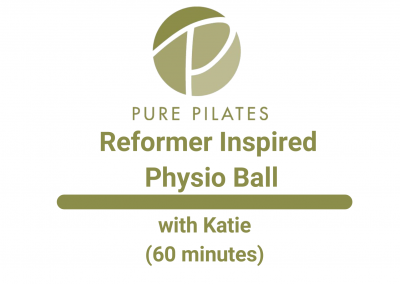 Reformer Inspired Physio Ball With Katie 60 Minutes