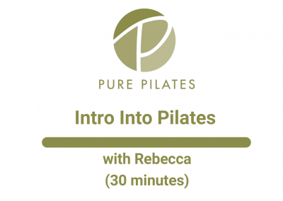 Intro to Pilates With Rebecca 30 Minutes