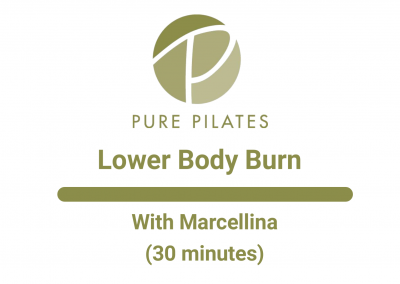 Lower Body Burn With Marcellina 30 Min