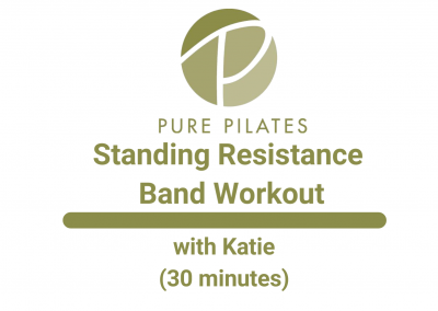 Standing Resistance Band Workout With Katie 30 Min