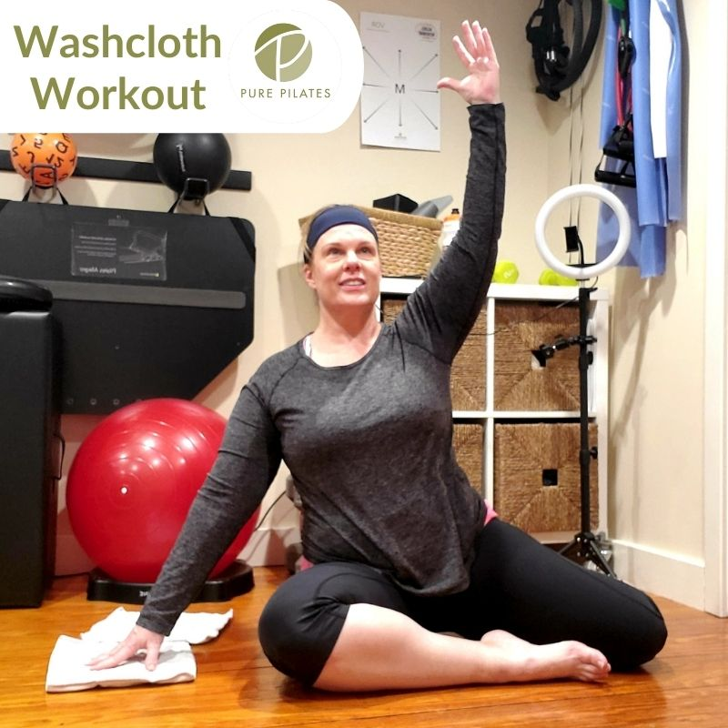 Washcloth Workout
