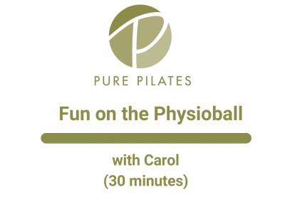 Fun on the Physioball With Carol 30 Minutes