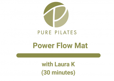 Power Flow Mat With Laura K 30 Minutes