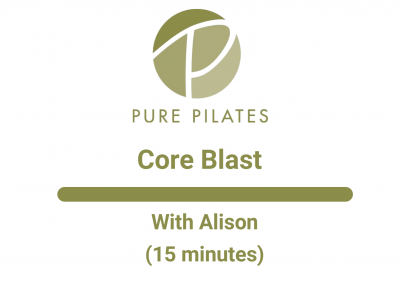 Core Blast With Alison 15 Minutes