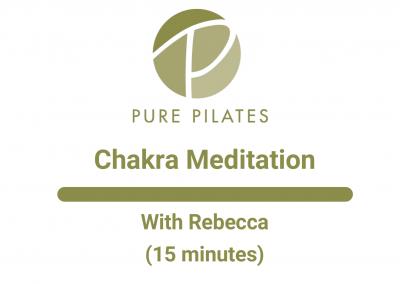 Chakra Meditation With Rebecca 15 Minutes