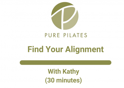 Find Your Alignment with Kathy 30 Minutes