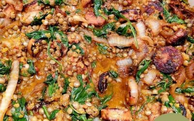 Chicken Sausage and Lentils