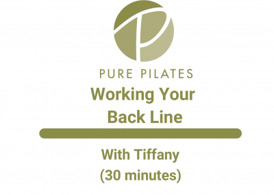 Working Your Back Line With Tiffany 30 Minute