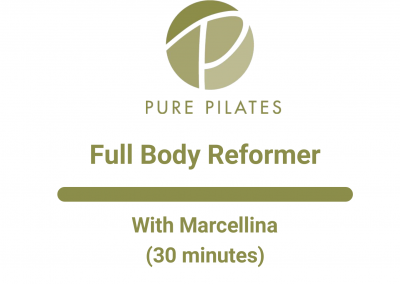 Full Body Reformer With Marcellina 30 Minutes