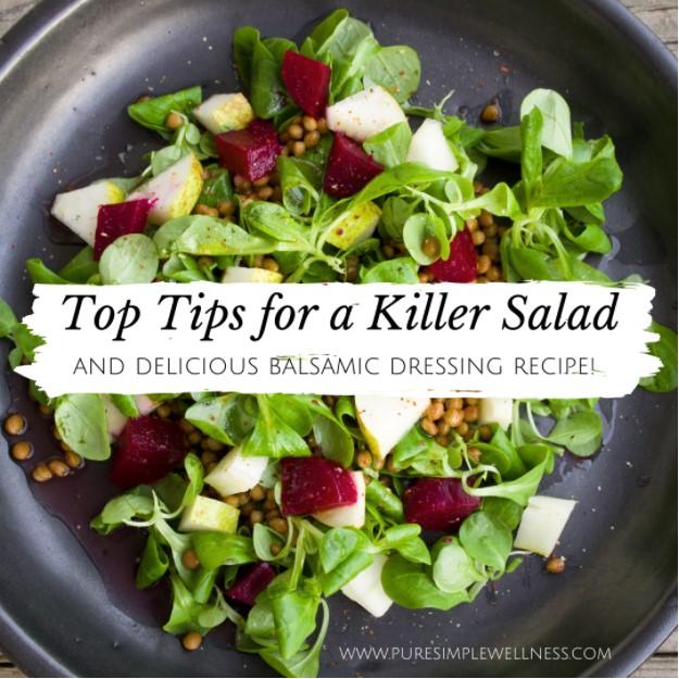Top Tips for a Killer Salad w/ Elizabeth Girouard