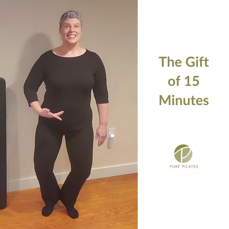 The Gift of 15 Minutes